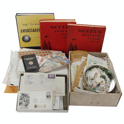 Collection of Vintage and Antique Stamps and First Day Covers