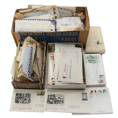 Vintage and Antique Stamps and First Day Covers