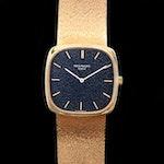 Vintage Patek Philippe Ref.3666/1 18K Gold Stem Wind Wristwatch