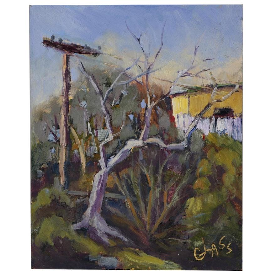 Jean Glass Landscape Oil Painting