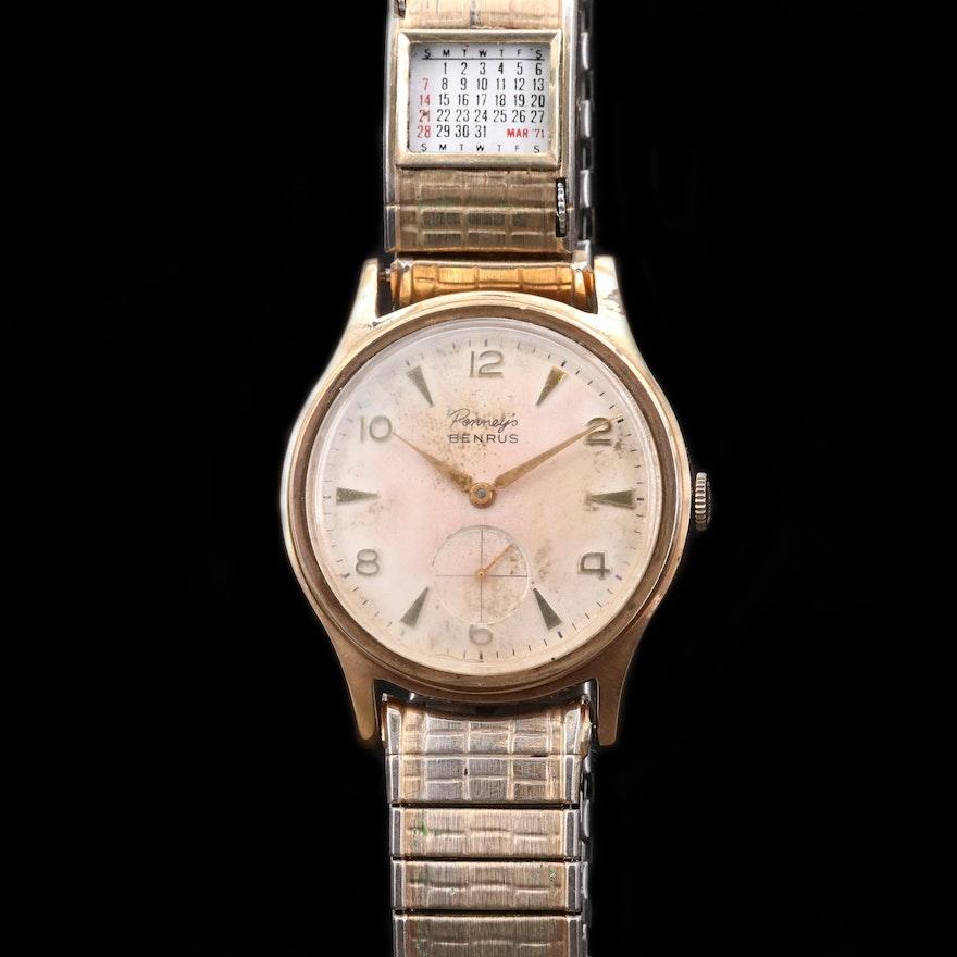 Penny's Benrus Stem Wind Wristwatch
