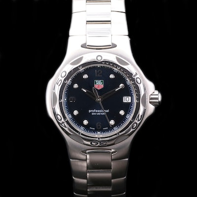 TAG Heuer Kirium Stainless Steel Quartz Wristwatch, 2002