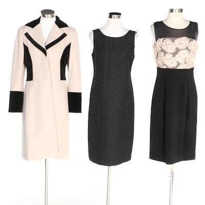 J. Peterman Woolen Coat and Occasion Dresses