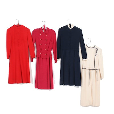 Ciao Limited, Posh by Jay Anderson and More Wool Dresses, Vintage