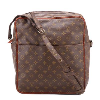 Louis Vuitton Monogram Coated Canvas Danube Crossbody Bag, Vintage