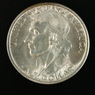 1935 Daniel Boone Commemorative Silver Half Dollar