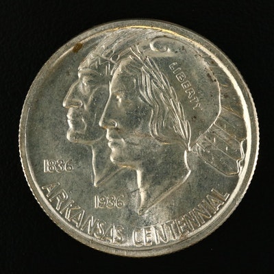 1936 Arkansas Commemorative Silver Half Dollar