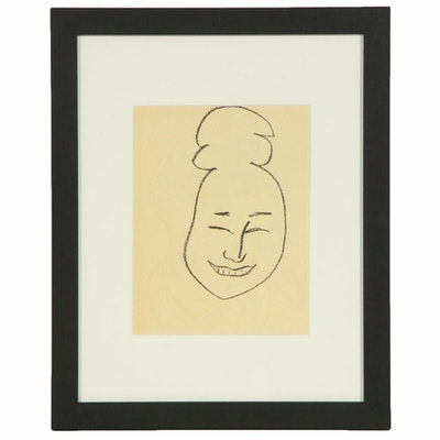 "Lithograph after Henri Matisse ""Esquimau"""