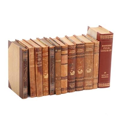 Swedish Literary Leather Books, c. 1949