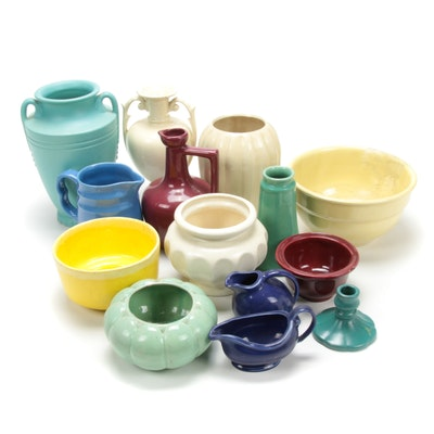 Haegar Pottery, Oxford Ware and Other American Pottery Pieces