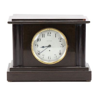 Seth Thomas Mahogany Mantel Clock, Late 19th / Early 20th Century
