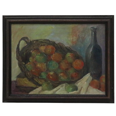 """Oil Painting after Paul Cézanne """"The Basket of Apples"""""""