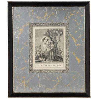 "Antonio Sandi Engraving ""Jupiter Dodonaeus"", circa 1792"