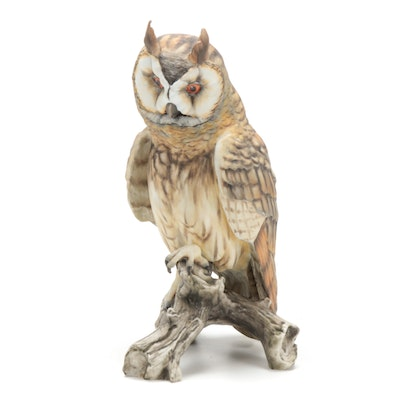 Kaiser Limited Edition Hand-Painted Porcelain Owl Figurine