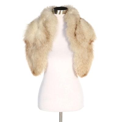 Fox Fur Stole, Vintage