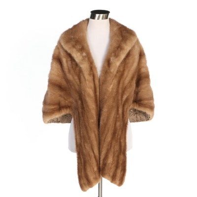 Mink Fur Stole from A. Stern & Sons, Vintage