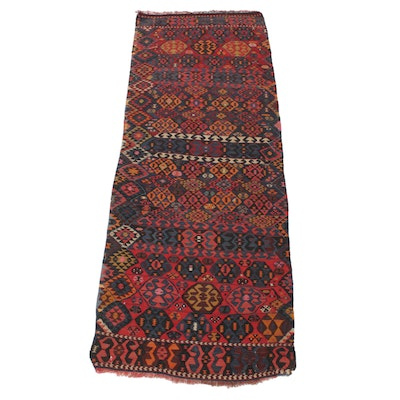 3'2 x 8'9 Handwoven Northwest Persian Kilim Rug