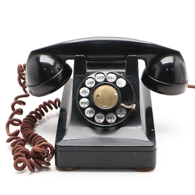 "Western Electric ""Bell System"" Rotary Dial Telephone"