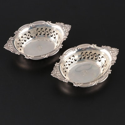 """Gorham """"Cromwell"""" Sterling Silver Individual Nut Bowls, Early/Mid 20th Century"""