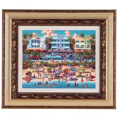 "Eric Dowdle Giclée ""South Beach"""