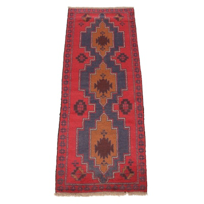 2'5 x 6'4 Hand-Knotted Persian Baluch Runner