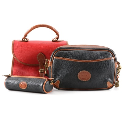 Dooney & Bourke All-Weather Leather Handbags and Accessory Case