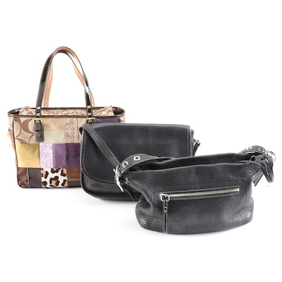 Coach Hobo Bag, Patchwork Tote and Flap Front Bag