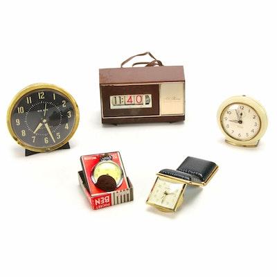 Seth Thomas, Westclox and Other Alarm Clocks, Mid-20th Century