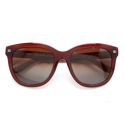 Etro ET622S Brown and Tapestry Print Sunglasses with Case