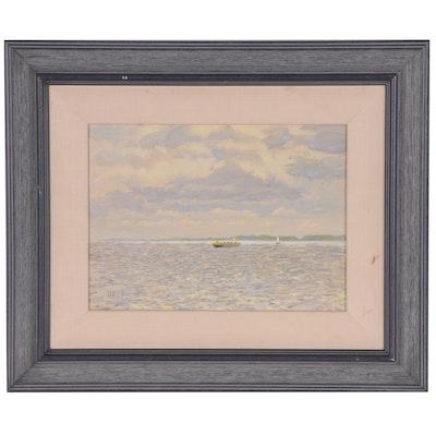 Halpin Nautical Oil Painting
