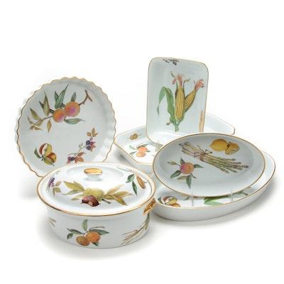 """Royal Worcester """"Evesham"""" Porcelain Serveware"""