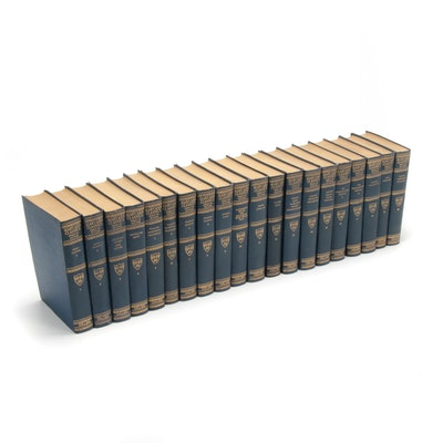 "1917 Edition The Harvard Classics ""Shelf of Fiction"" Twenty-Volume Set"