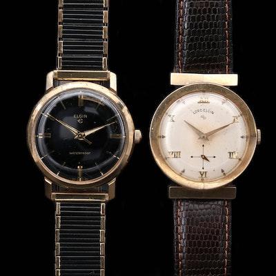 Vintage Lord Elgin and Elgin Stem Wind Wristwatches