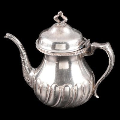 New Amsterdam Silver Co. Silver Plate Teapot, Early 20th Century