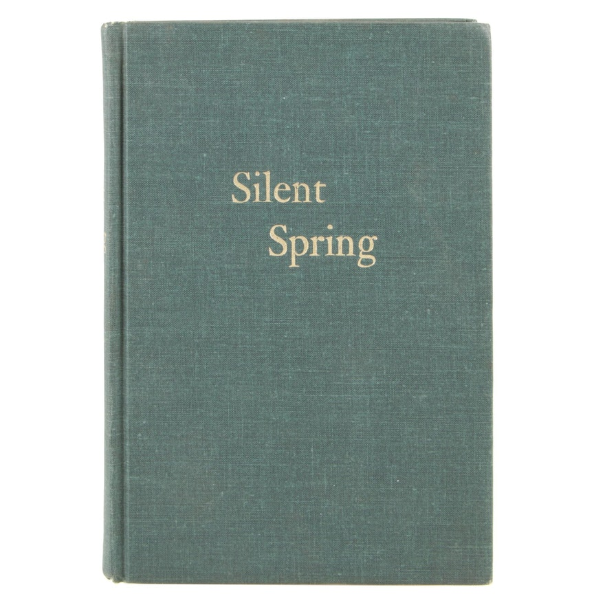 "1962 ""Silent Spring"" by Rachel Carson, National Book Award Winner for Nonfiction"
