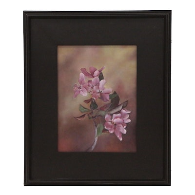 Rhododendron Floral Oil Painting