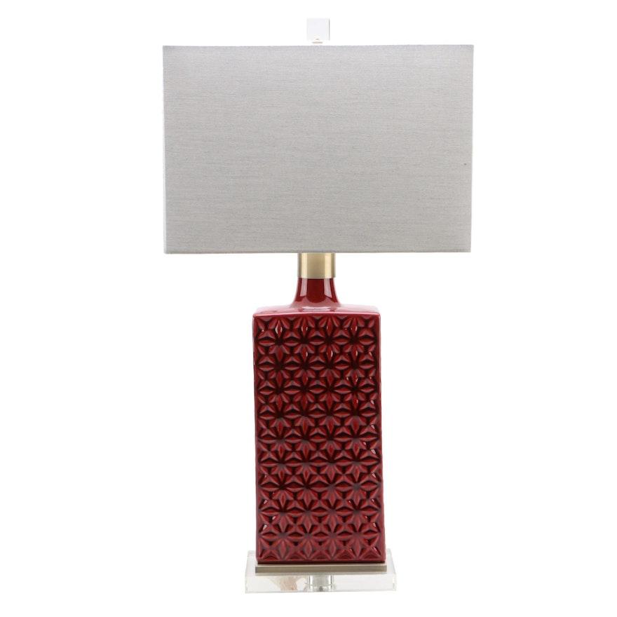 Uttermost Mid Century Modern Style Ceramic Table Lamp
