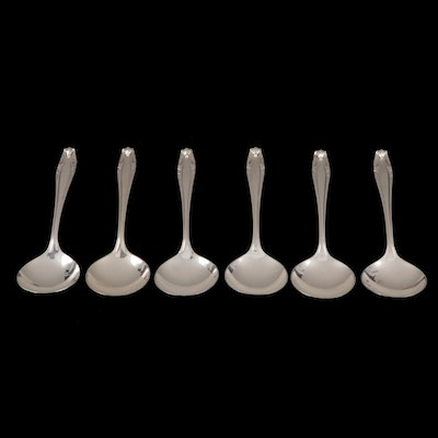 "Wallace ""Stradivari"" Sterling Silver Soup Spoons, 1937-2009"