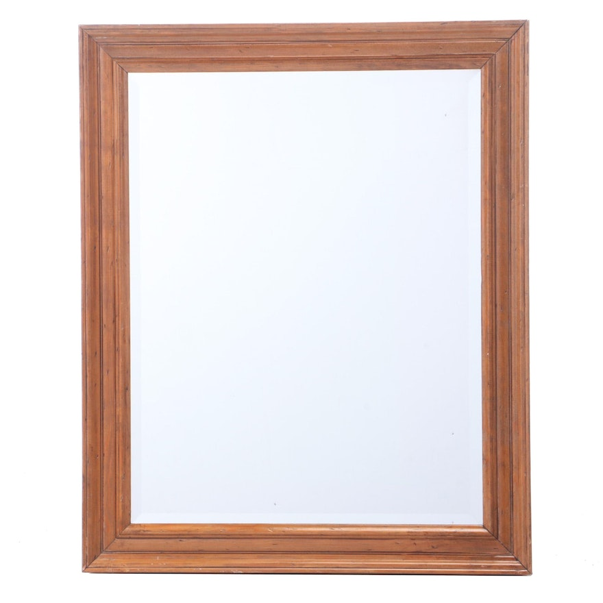 Stained Pine Mirror