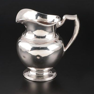 Lebkuecher & Co Sterling Silver 5-Pint Water Pitcher, 1896–1909