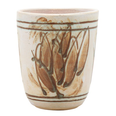 J.T. Abernathy Hand Thrown Studio Pottery Planter