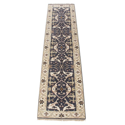 2'5 x 9'10 Hand-Knotted Indo-Persian Tabriz Runner