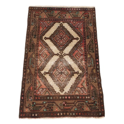 2'6 x 4'0 Hand-Knotted Caucasian Rug