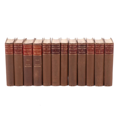 Nathaniel Hawthorne, Including Julian Books Volume 1 and 2, Late 19th Century