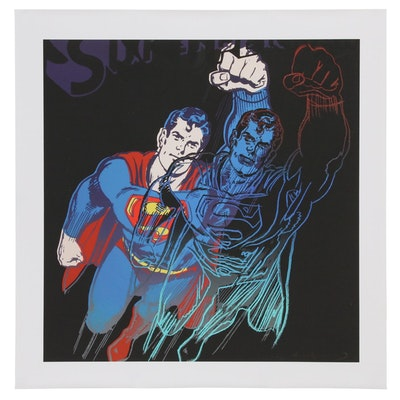 "Giclée after Andy Warhol ""Superman"""