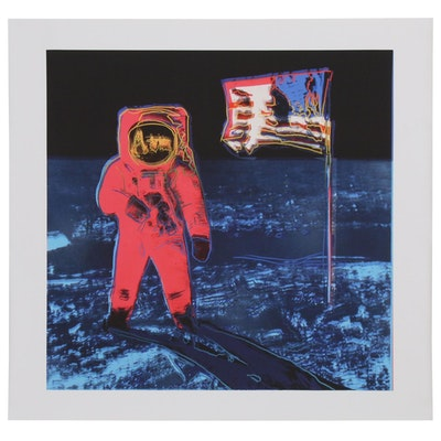 "Giclée after Andy Warhol ""Moonwalk"""