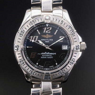 Breitling Colt Ocean Stainless Steel Automatic Wristwatch