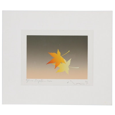 "Kozo Inoue Serigraph ""September"""