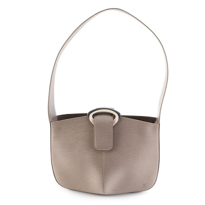 Louis Vuitton Reverie Shoulder Bag in Lilac Epi Leather