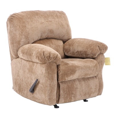 Franklin Corp. for Furniture Fair Upholstered Reclining Armchair